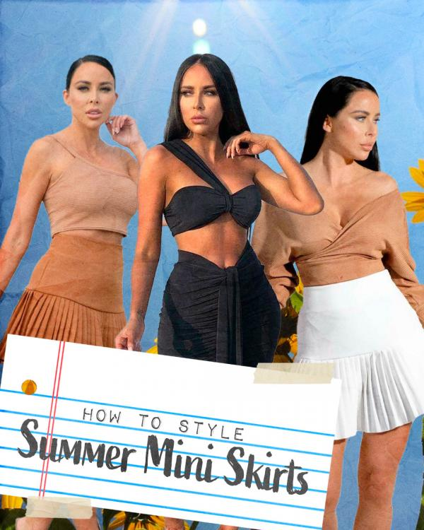 How To Style Summer Mini Skirts